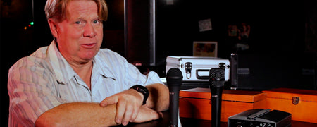 Miktek Audio Microphone Overview/Review with Steve McNeil of Mambo Sound and Mac West