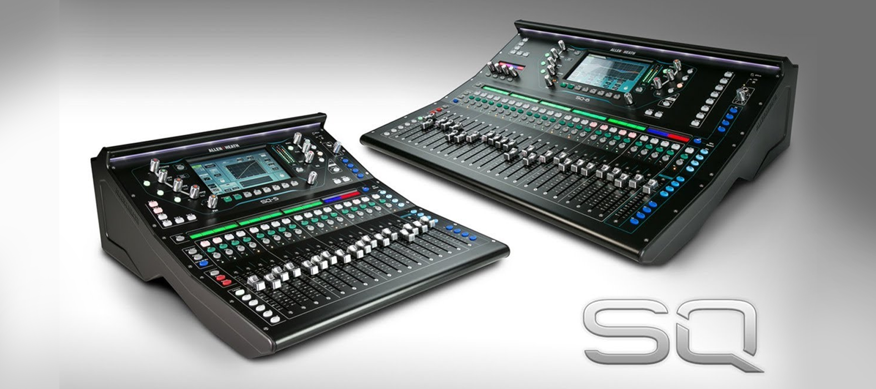 Allen & Heath SQ Series Mixers have arrived (VIDEO)