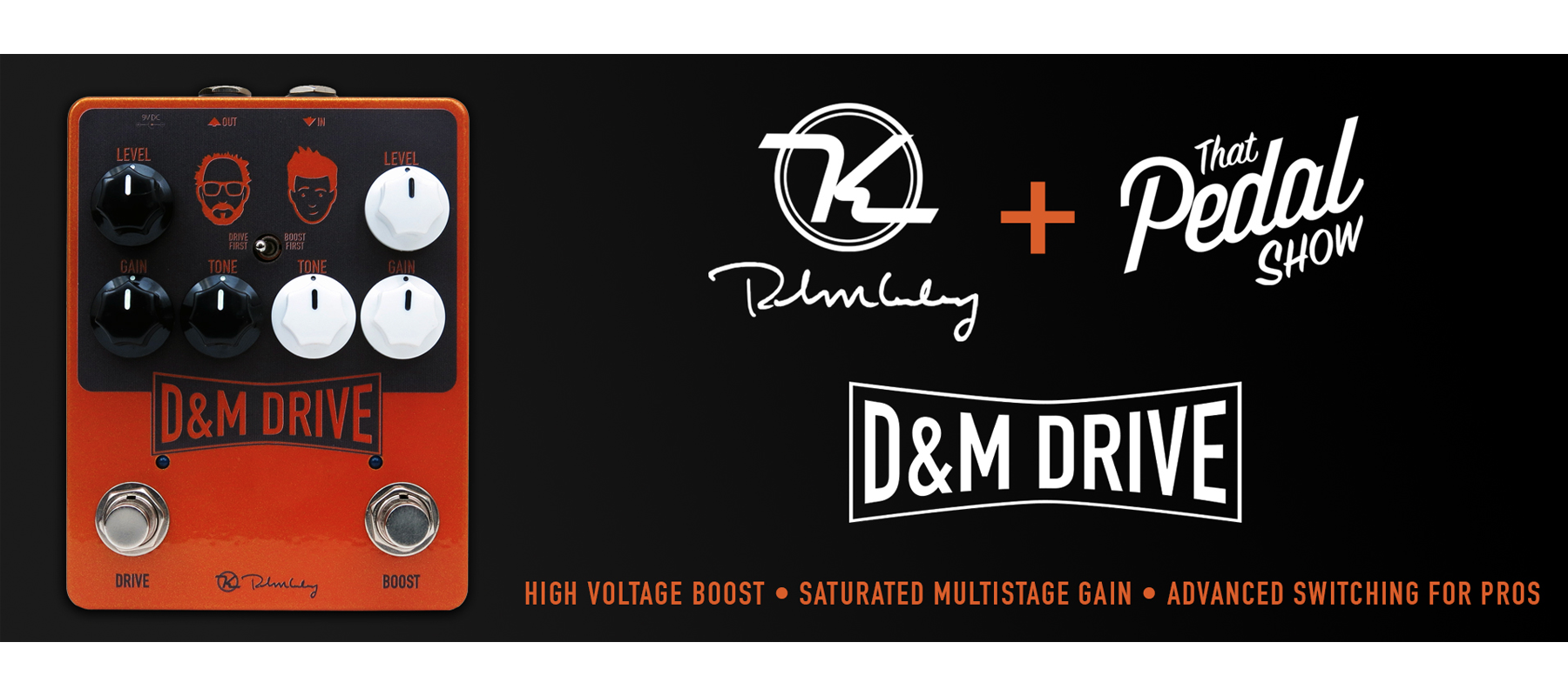 "Keeley Electronics ""D&M Drive"" Pedal demo with Alex Vo (VIDEO)"
