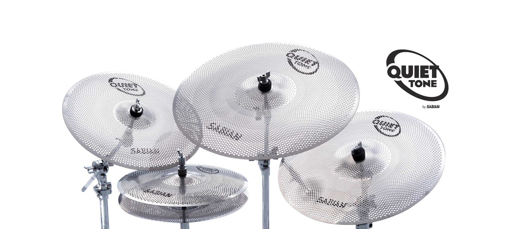 Practice anywhere with Sabian's new Quiet Tone Cymbals! (VIDEO)