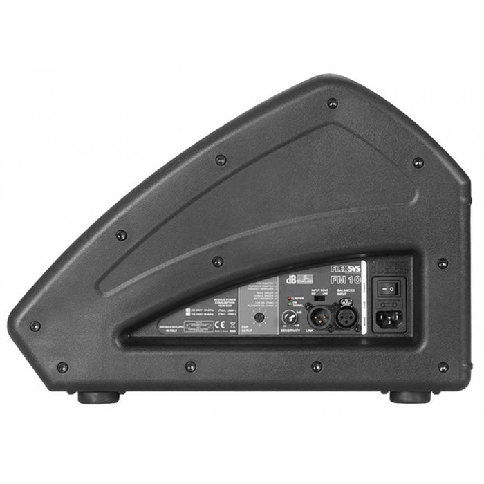 "dB Technologies Flexsys Series 10"" Active Coaxial Stage Monitor FM10 (Email for D.O'B. Sound Pro Price)"