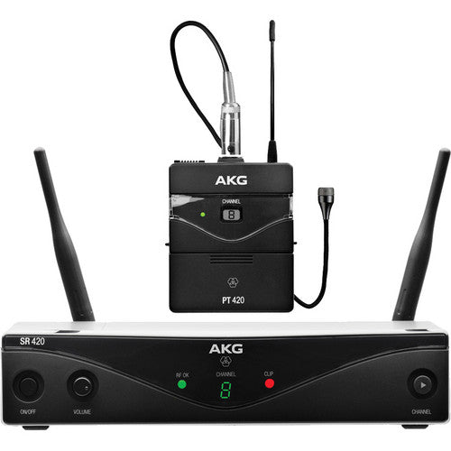 AKG WMS420 UHF Wireless Presenter System (Band A: 530.025 to 559.00 MHz)