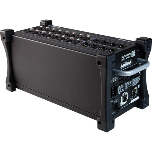 Allen & Heath AH-AB-168 - 16 x 8 portable stage box, dSNAKE I/O for expansion