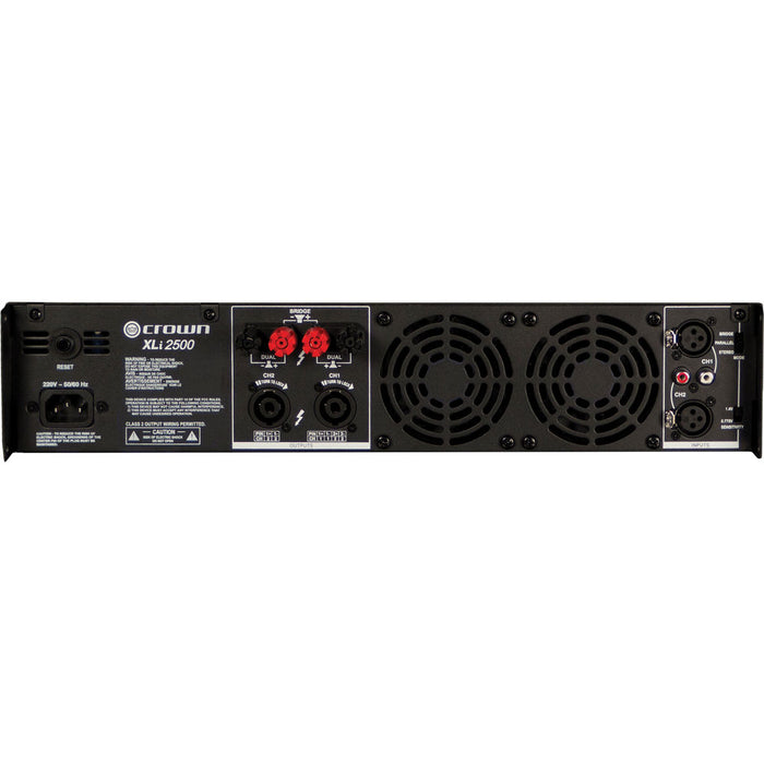 Crown Audio XLi XLi2500 2x750W Power Amplifier