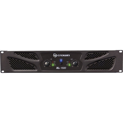 Crown Audio XLi XLi1500 2x450W Power Amplifier