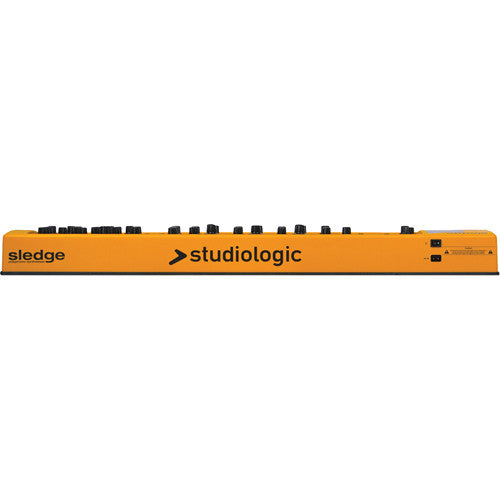 Studiologic Sledge 2.0 is now a 61 note 24 Voice Virtual Analog Synth with tactile control. (Email for D.O'B. Sound Pro Price)