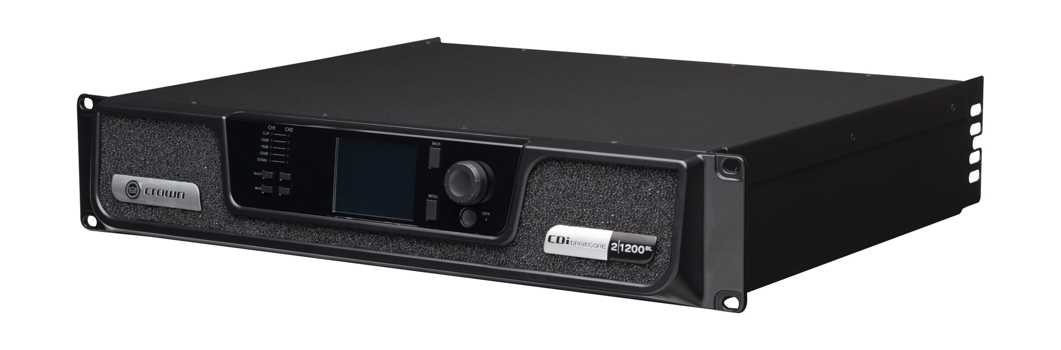Crown Audio CDi DriveCore Series Crown CDi DriveCore 2|1200BL 2x1200W Power Amplifier with BLU link