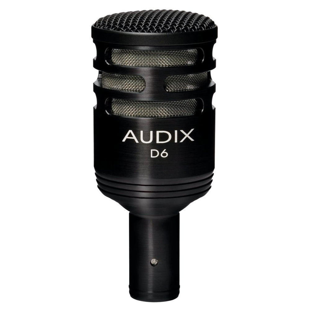 Audix D6 Dynamic Kick Drum Microphone (Email for D.O'B. Sound Pro - Lower Price)