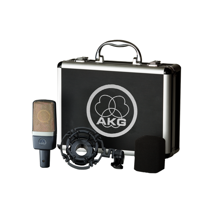 AKG C214 Large-Diaphragm Condenser Microphone. From D.O'B. Sound Pro