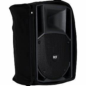 RCF ART-315A MK4 Active 2 Way Speakers (A PAIR) with (2) Speaker Covers
