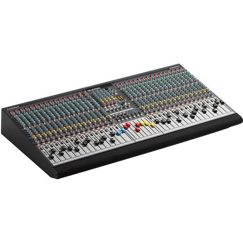 Allen & Heath AH-GL2400-32 32 mic/line + 2 stereo mixer, 6 aux sends, 4 band dual swept mid EQ, direct out per channel, 100mm faders, 4 subgroups