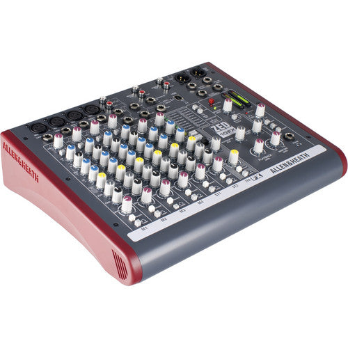Allen & Heath AH-ZED10FX 10 Ch Multipurpose Live / Recording Mixer with USB and FX