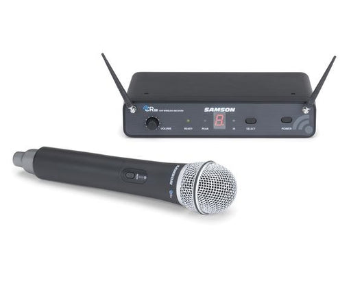 Samson Concert 88 Wireless (K Band) Handheld System with Q6 Handheld Dynamic Mic (CR88/CH88-Q6)