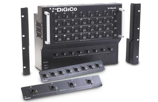 Digico D-Rack Floor Mount 32 In, 16 Out Stage Box