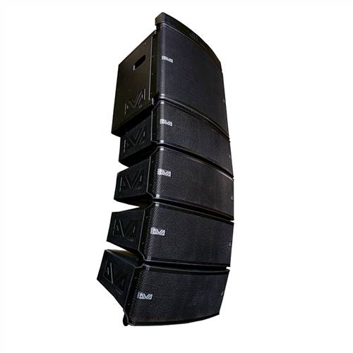 dB Technologies DVA-MM+M2S Mini Line Array Pack (Active / Passive modules with DVA ms-12 Active Sub