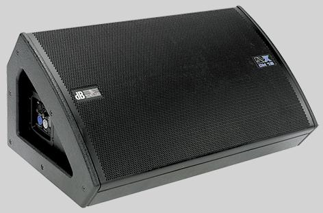 DVX DM15  low-profile 750 W Active stage monitor