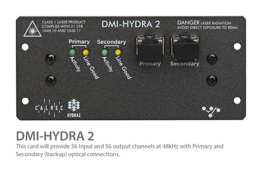 "Digico DMI Calrec Hydra2 56 Ch. w/SRC 2 LC Optics Connections ""Y"" expansion card for Digico S Series Consoles (MOD-DMI-HYDRA2)"