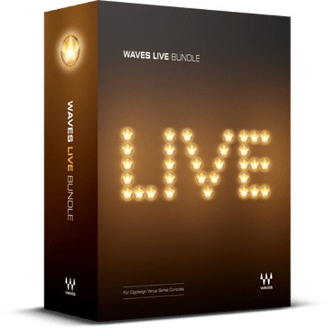 Waves LIVE-TDM Live Bundle Live Sound Production Plugin Bundle (LIVETDM)
