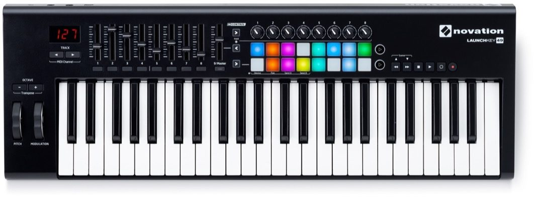 Novation Launchkey 49 MK2 MIDI Keyboard (Includes Ableton Live Lite 9 and other synth software)