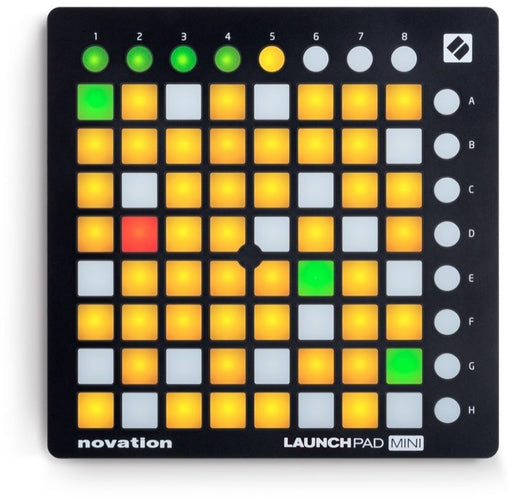 Novation Launchpad Mini MK2 (Includes Ableton Live Lite 9 and other synth software)