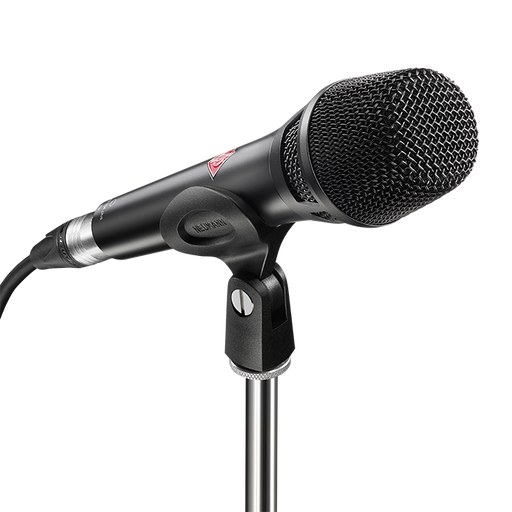 Neumann KMS 104 PLUS BK Cardioid handheld with extended bass frequency response