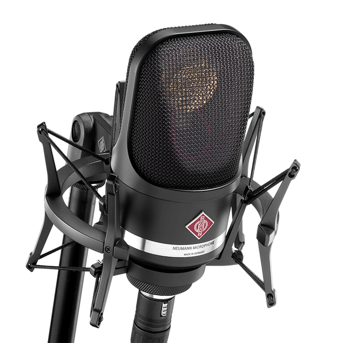 Neumann TLM 107 Set Multi-Pattern Large Diaphragm Condenser Microphone (Black)