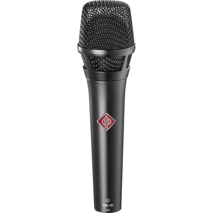 Neumann KMS 105 MT Supercardioid handheld with K 105 capsule (Black)
