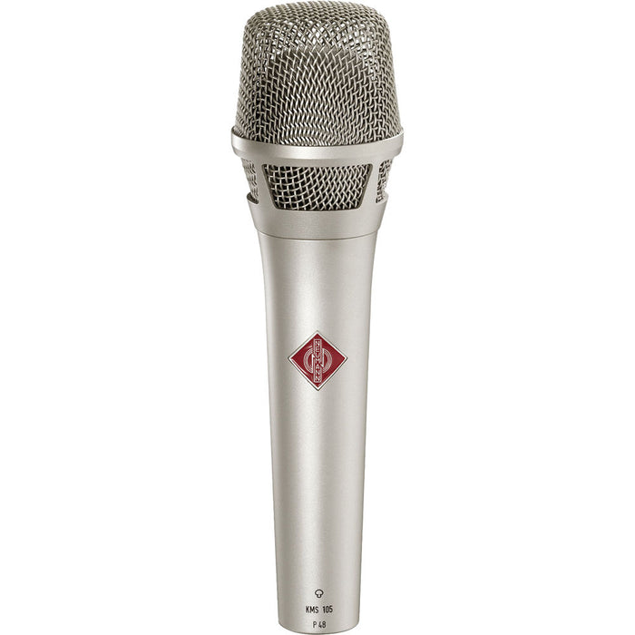 Neumann KMS 105 Supercardioid handheld with K 105 capsule, KMS Pouch and SG 105 (Nickel)