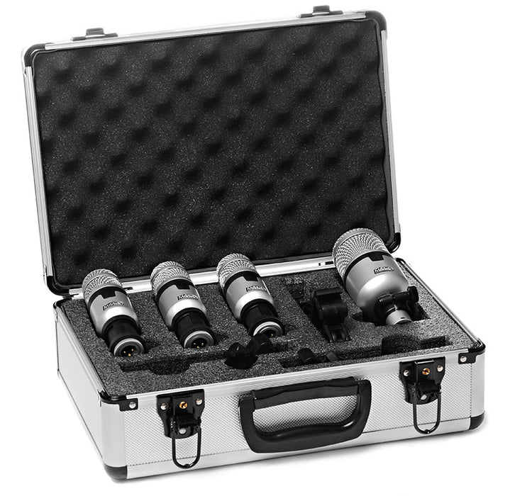 Miktek PMD4 4-Piece Dynamic Drum Mic Kit