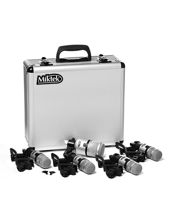 Miktek PMD5 5-Piece Dynamic Drum Mic Kit