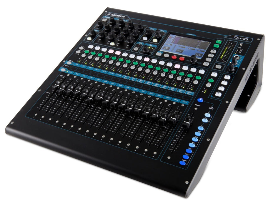Allen & Heath  AH-QU-16C 24 channel digital, 24 Mic/Line + 3 stereo, 100mm motorized faders (Email for D.O'B. Sound Pro Price - TOO LOW TO ADVERTISE!!!!)