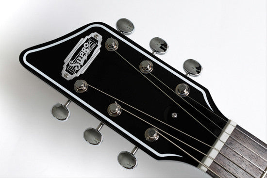 Supro 2010JB Jamesport Island Series (Jet Black)