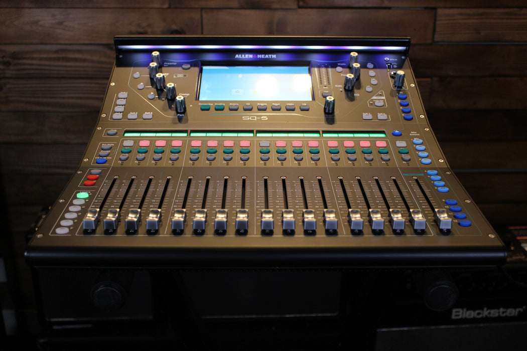 Allen & Heath   AH-SQ-5  Digital Mixer - 96kHz XCVI FPGA processing, 48 Input Channels (Email for D.O'B. Sound Pro Price)