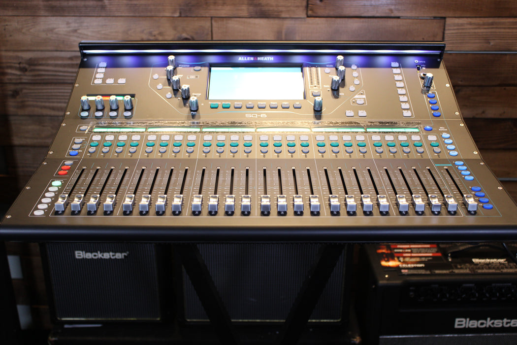 Allen & Heath SQ-6 Digital Mixer - 96kHz XCVI FPGA processing, 48 Input Channels