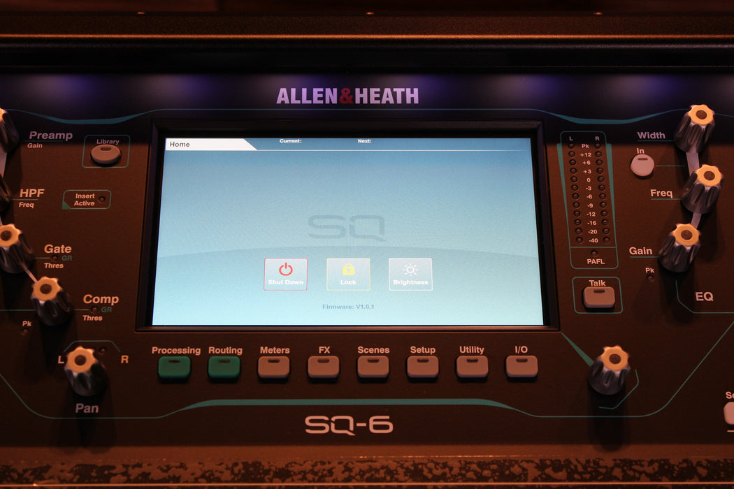 Allen & Heath SQ-6 Digital Mixer - 96kHz XCVI FPGA processing, 48 Input Channels - Open Box / Never Used / Full Mfr. Warranty