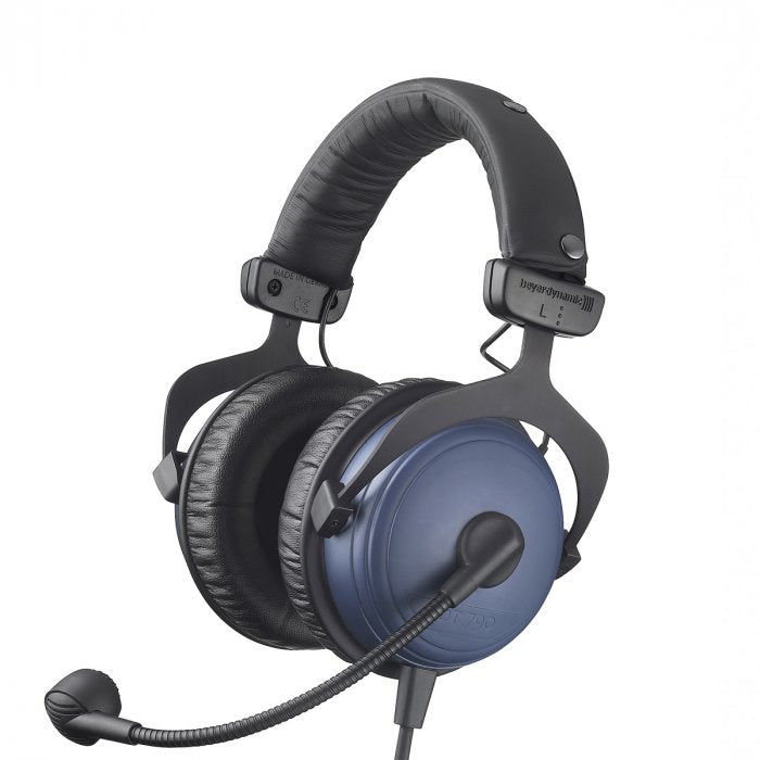 Beyerdynamic DT 790.28 200/80 Hi-Isolation Broadcast Headset w/ Hypercardiod Dynamic Mic, 4-Pin COM XLR Female Cable