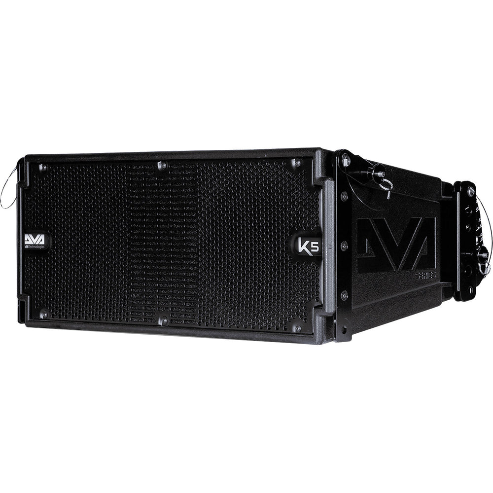 dB Technologies DVA-K5 Active Line Array Speaker with Cables (Active 3 Way Speaker)