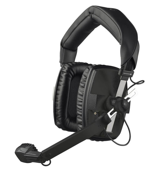 Beyerdynamic DT 109 200/400 BLACK Broadcast headset with dynamic microphone for camera crew, reporters (closed)