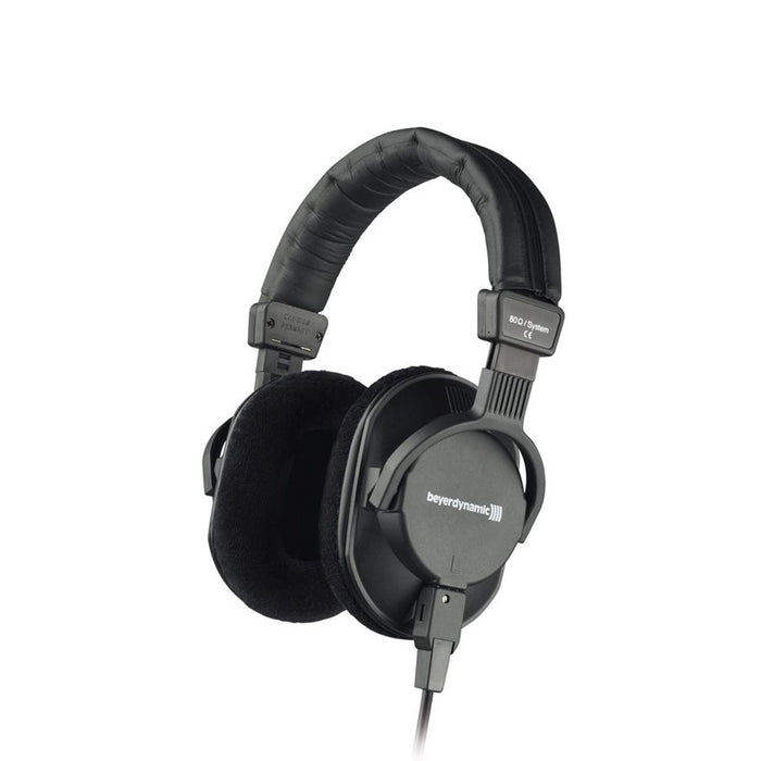Beyerdynamic DT 250 80 Ohms Dynamic Closed Studio Headphone with 10' K 100.07 Cable