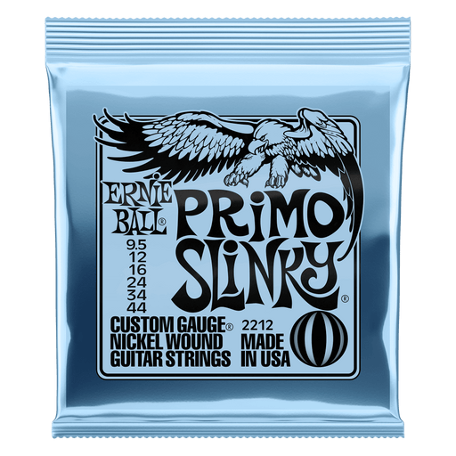 Ernie Ball Primo Slinky Electric Guitar Strings (9.5-44) 2212
