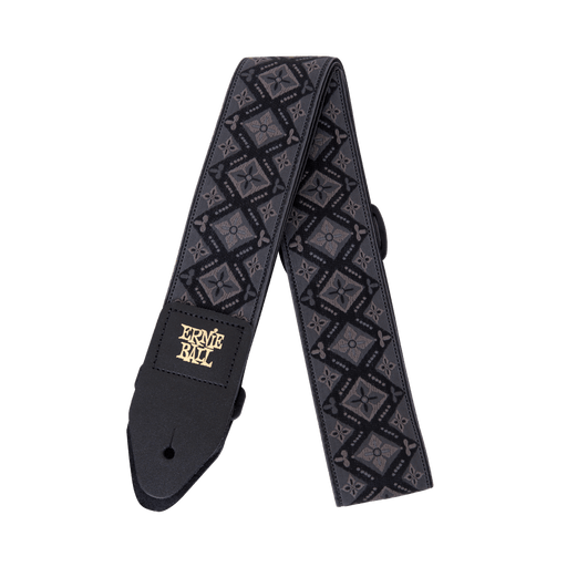 Ernie Ball Jacquard Regal Black Guitar/Bass Strap 4093