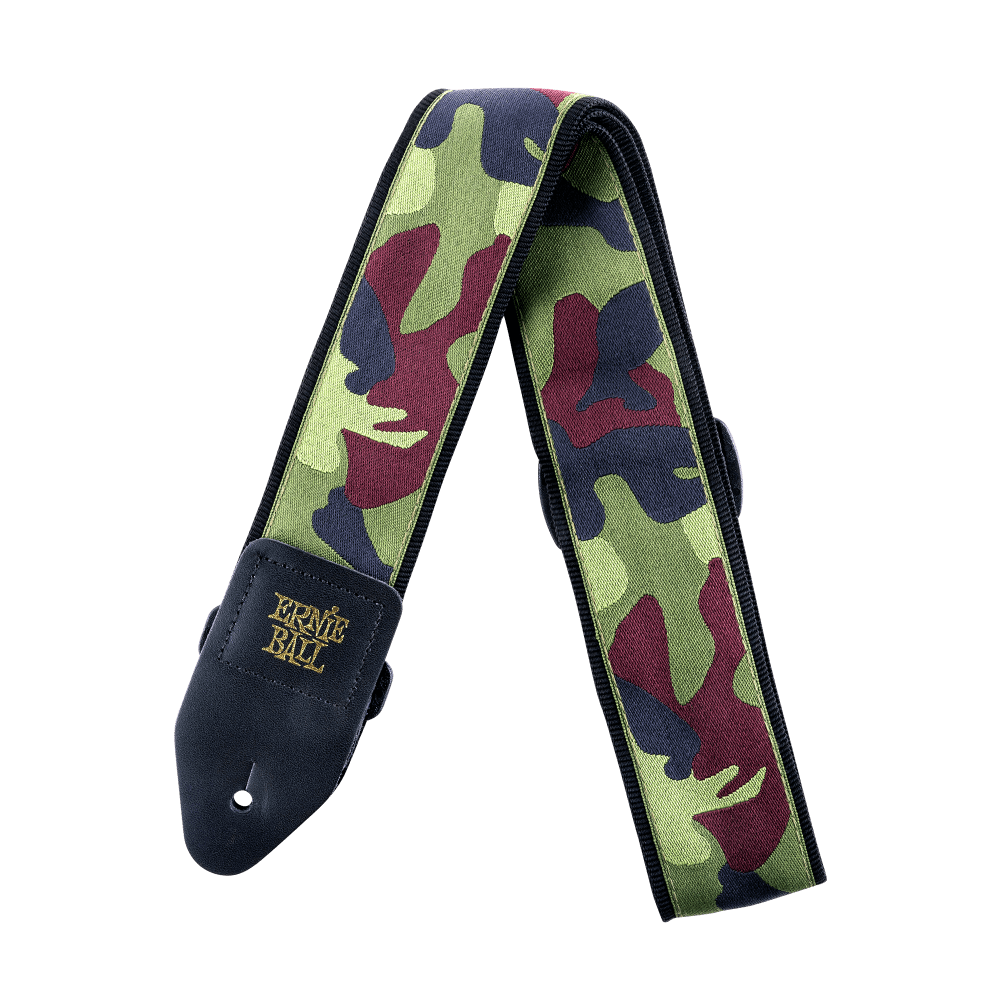 Ernie Ball Jacquard Traditional Camo Guitar/Bass Strap 4105