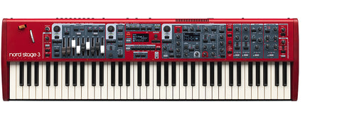 Nord Stage 3 Compact 73-key semi-weighted keybed with physical drawbars