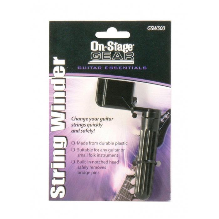 On-Stage GSW500 Guitar String Winder
