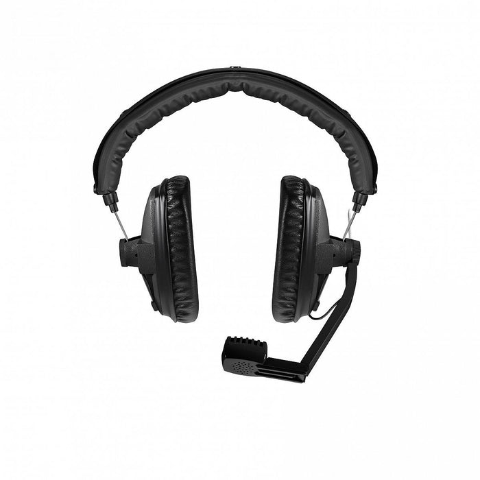 Beyerdynamic DT 109 200/50 BLACK Broadcast headset with dynamic microphone for camera crew, reporters (closed)