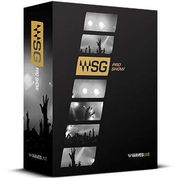 Waves Pro Show Plugins Bundle (includes over 120 SoundGrid-compatible plugins) SGPB
