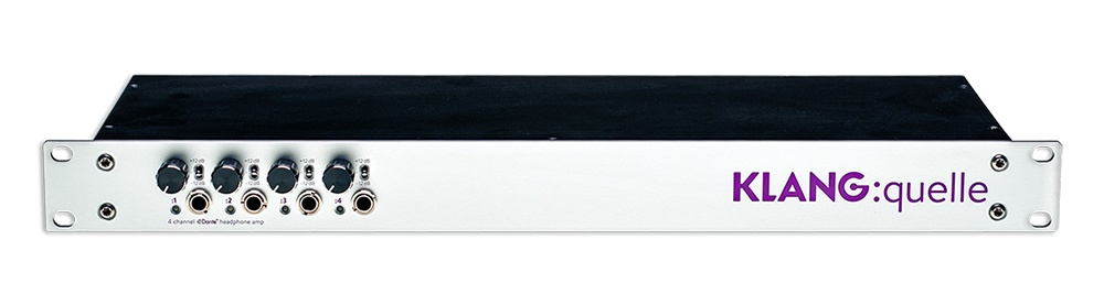 KLANG : quelle-19 Dante Headphone Amp - Rack Mount
