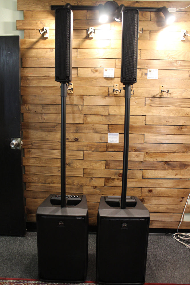 Evox J8 and JMix 8 Combo - Active 2 Way Personal Column Array PA System with Speaker Covers
