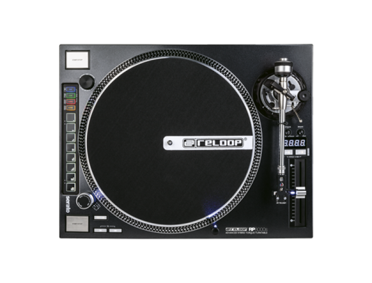 Reloop RP-8000 Straight Advanced Hybrid Torque Turntable w/ Straight Tone Arm