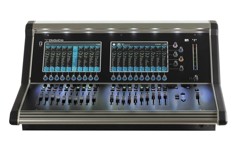 DiGiCo D2 CAT5e MADI Rack - MADI only 24 Analog In + 24 AES In x 16 Analog Out (expandable to 32 Out) (X-D2-DI-C)